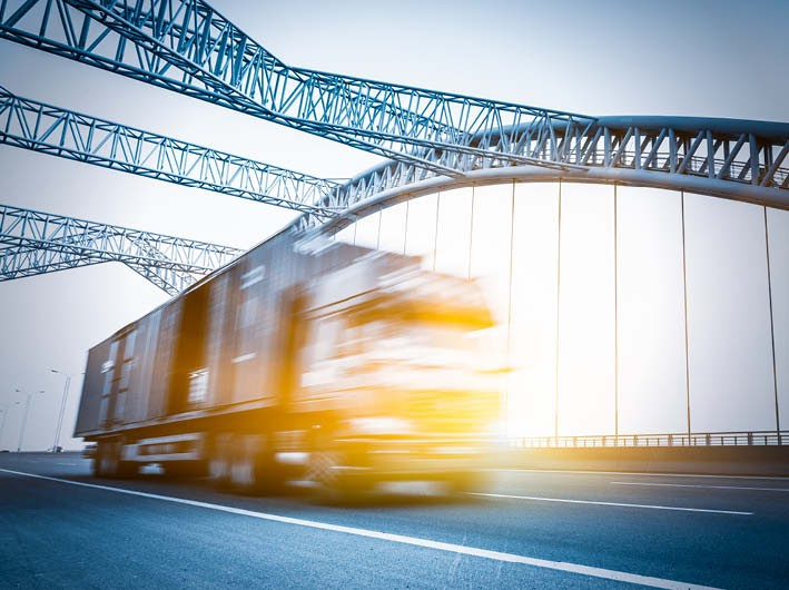 Truck on Bridge Contentslider